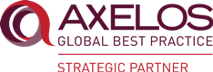 We are a Strategic Partner of AXELOS.